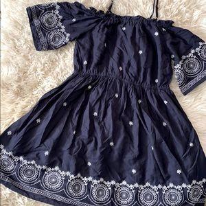 World Market Off the shoulder embroidered Dress